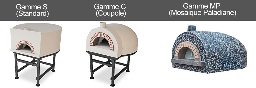 Four a pizza gamme S-C-MP