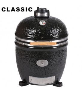 Grille en fonte demi lune pour barbecue LECHEF Monolith