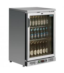 Arrière-bar inox 104 bouteilles Polar Série G