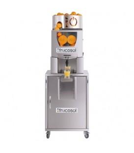 Presse Agrumes avec système d'alimentation automatique compact avec démarrage et arrêt automatique en actionnant le robinet.