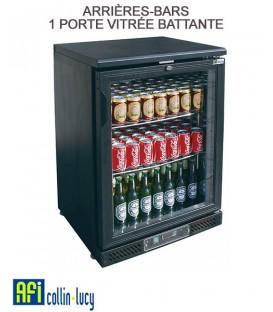ARRIÈRES-BARS 1 PORTE VITRÉE BATTANTE