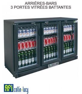 ARRIÈRES-BARS 2 PORTES VITRÉES BATTANTES