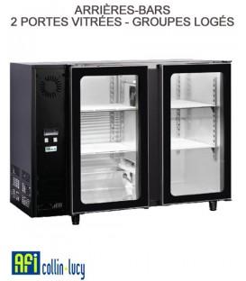 ARRIÈRES-BARS 2 PORTES VITRÉES 235 LITRES- GROUPES LOGÉS