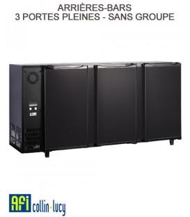 ARRIÈRES-BARS 3 PORTES PLEINES 336 LITRES- GROUPES LOGÉS